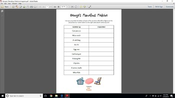 Anagrams x 6 (plus 6 answer sheets) for Roald Dahl story books
