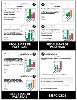 Análisis de datos y Probabilidad: Diagramas de barra Gr. PK-2