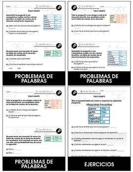 Análisis de datos y Probabilidad: Tablas de conteo Gr. PK-2