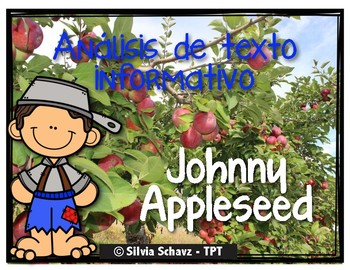 Análisis de texto informativo - Johnny Appleseed