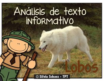 Análisis de texto informativo - Los lobos