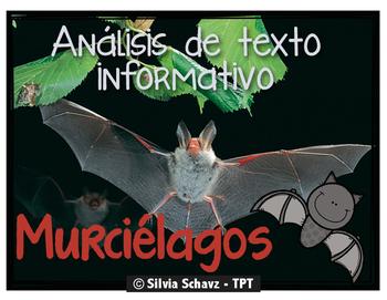 Análisis de texto informativo - Los murciélagos