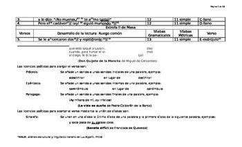 Análisis estructural y lingüístico-literario de Masa de Cesar Vallejo