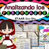 Analizando Los Personajes~Recurso de Instrucción y Evaluación Alineado al STAAR