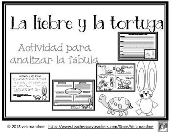 Analizar Fábula: La liebre y la tortuga / Analyzing Fable: Tortoise & the Haire