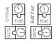 Analog Clock 2-Piece Puzzles