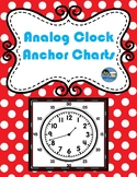 Analog Clock Anchor Charts TEK 2.9 G