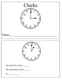 Analog Clock Book