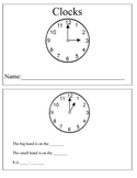 Analog Clock Book