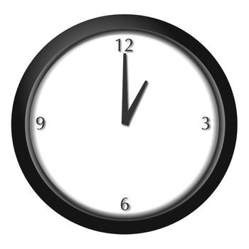 Analog Clock Clip Art