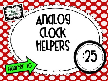 Analog Clock Helpers