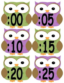 Analog Clock Labels