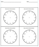 Analog Clock Practice