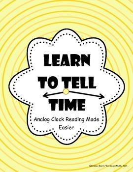 Analog Clock Reading Made Easier