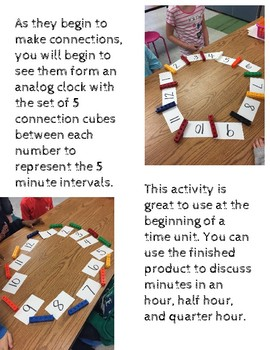 Analog Clock Stem Activity
