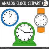 Analog Clocks Clipart