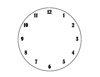 Analog Clocks: Telling Time to the Hour