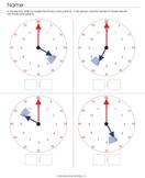 Analog Clocks with Visual Prompts