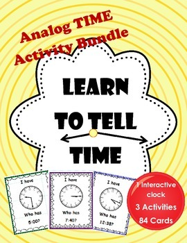 Analog Time Activity Bundle