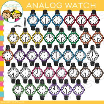 Analog Watch Clip Art