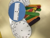 Analog and Digital Clock Templates