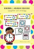 Analog och digital klocka