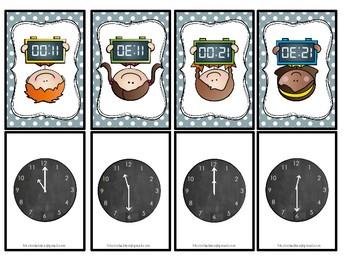 Analog og digital klokke