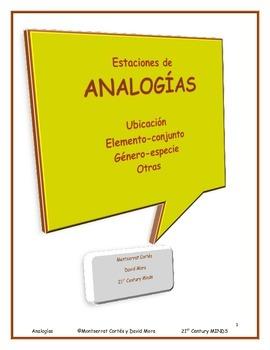 Analogias: Estaciones 5, 6, 7, y 8