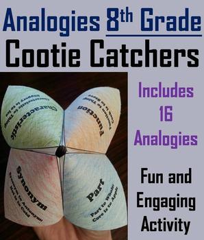 8th Grade Analogies Vocabulary Practice