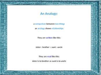 Analogies Across the Contents