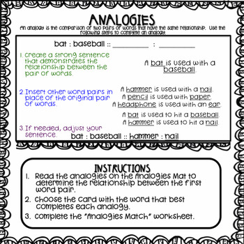 Analogies Center