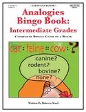 Analogies Bingo Book: Intermediate Grades