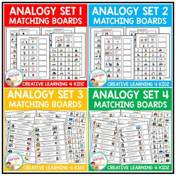 Analogy Matching Boards Sets 1-4 Bundle