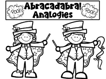 Analogies Craftivity