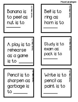 Analogies Game