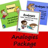 Analogies Bundle - PowerPoints and Worksheet Set