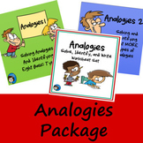 Analogies Package - PowerPoints and Worksheet Set