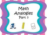 Analogies Part 3 CCSS