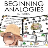 Analogies | PowerPoint | Game | Task Cards | Critical Thin