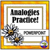 Analogies PowerPoint Distance Learning