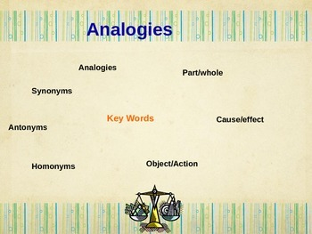 Analogies TN Ready Powerpoint