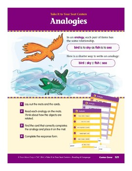 Analogies (Take It to Your Seat Centers)