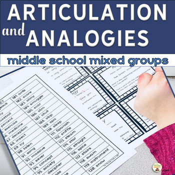 Analogies and Articulation