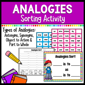 Analogies for Elementary Students