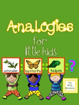 Analogies for Emergent and Beginning Literacy Learners