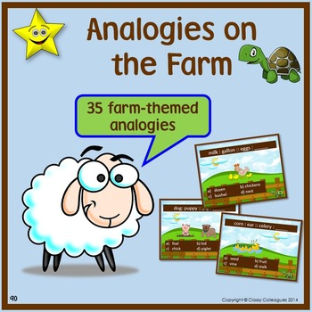 Analogies, Farm-Themed
