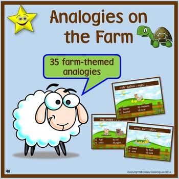 Analogies, Farm-Themed
