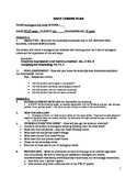 Analogous Line Study Lesson Plan