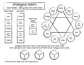 Analogous/ Warm & Cool Colors