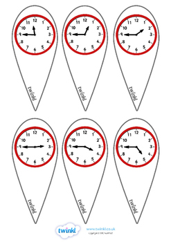 Analogue Time Fans (Quarter To)